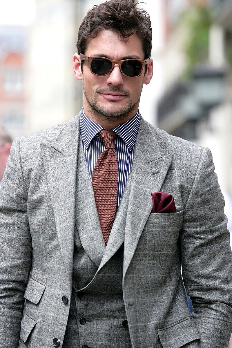 David Gandy on Savile Row…. London Collections: Men | LOVE LEAH ♥